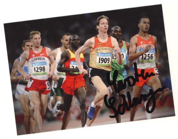 Autogrammkarte Carsten Schlangen Spezial - Olympische Spiele Peking 2008