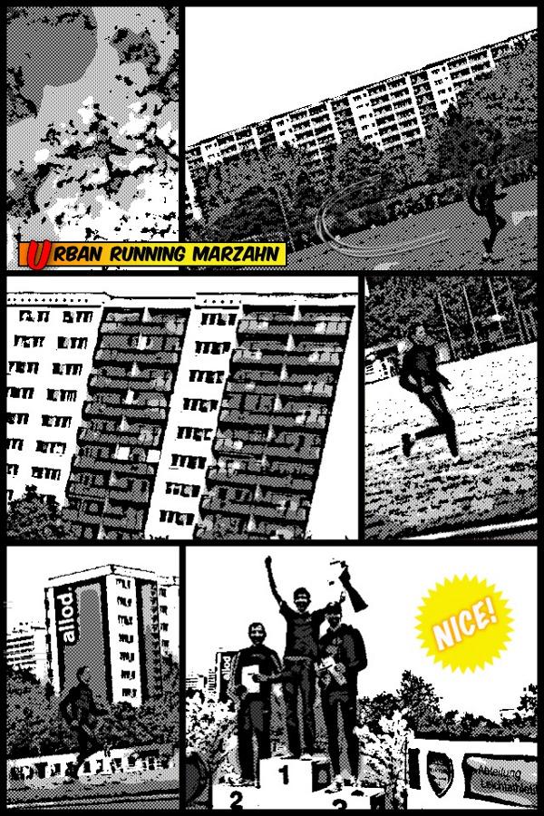 Carsten Schlangen - Urban Running in Marzahn. Ein Comic