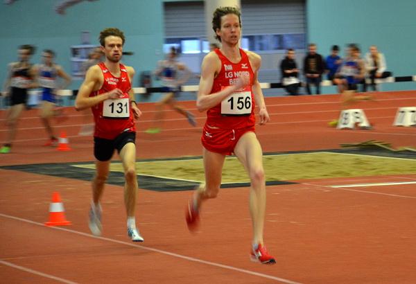 Carsten Schlangen bei den Berlin-Brandenburgischen-Meisterschaften Halle 2012 über 3000m