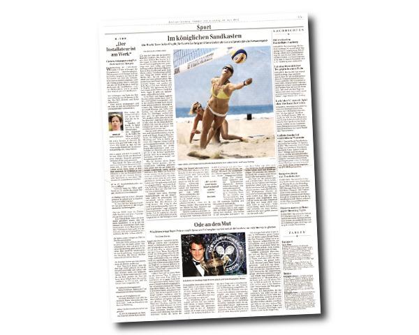 Berliner Zeitung - Der Installateur ist am Werk. Carsten Schlangen schafft es doch noch zu Olympia
