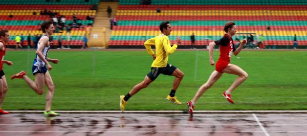 Carsten Schlangen und Arturo Casado - Berlin-Brandenburgische Meisterschaften 2013 800m Männer