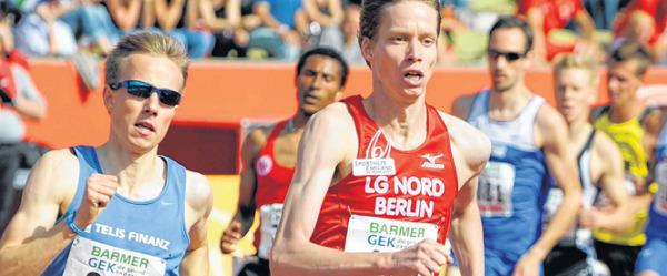 Carsten Schlangen und Florian Orth im Kampf um den Deutschen Meistertitel 2012
