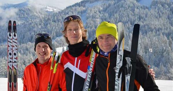 Carsten Schlangen im Skilanglauf-Trainingslager in Balderschwang i. Allgäu